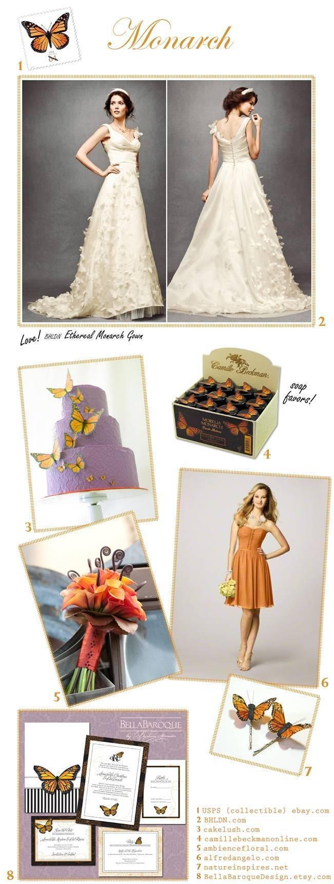Orange wedding inspiration