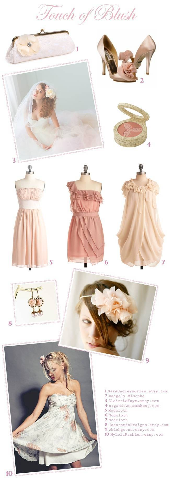 Color Inspiration - Touch of Blush