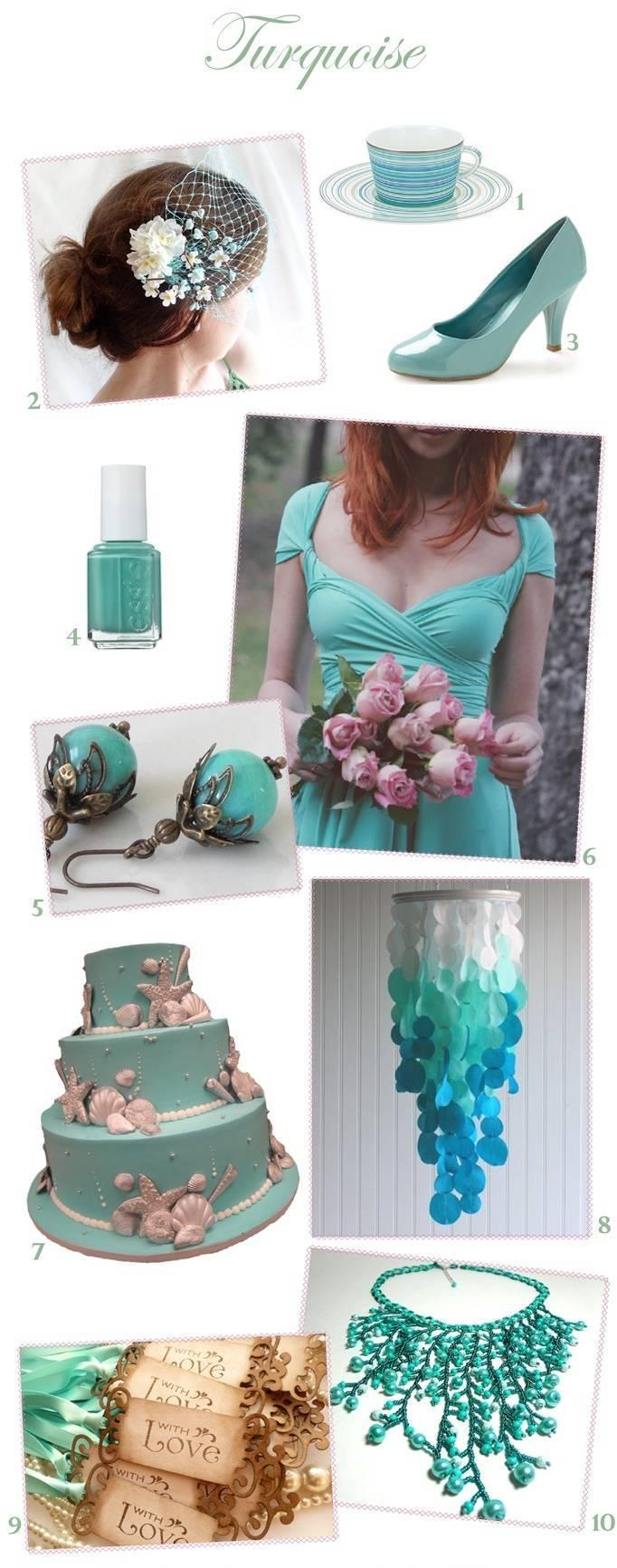 Turquoise Wedding Inspiration