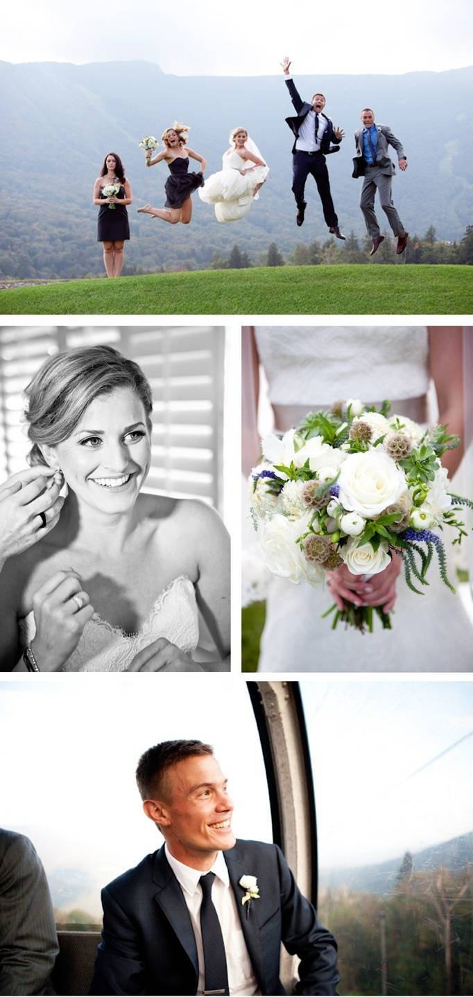Stowe Mountain Wedding by Orchard Cove Photography