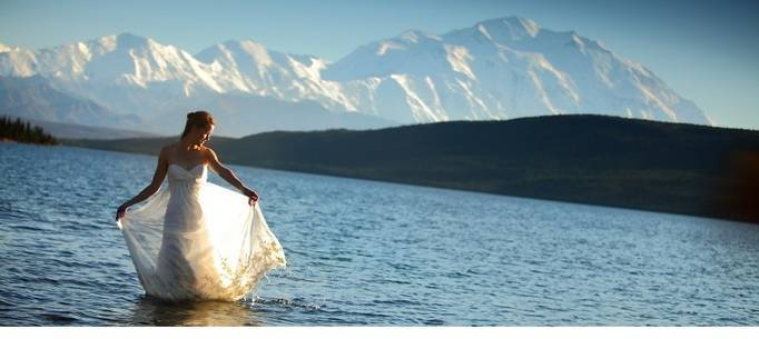 Denali Engagement by Chugach Peaks Photography