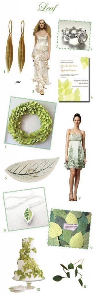 Leaf Green Wedding Theme