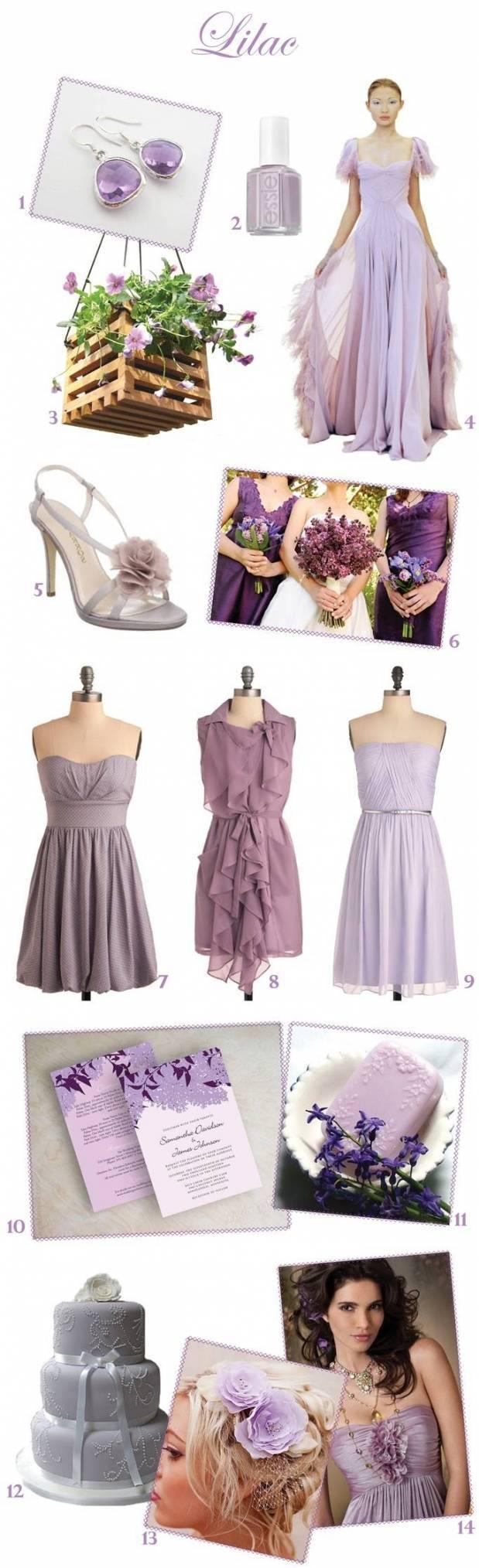 Lilac Wedding Inspiration