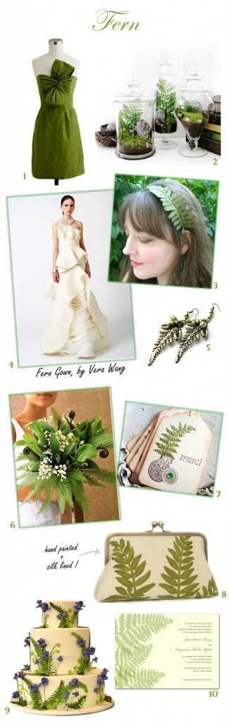 Fern Wedding Inspiration