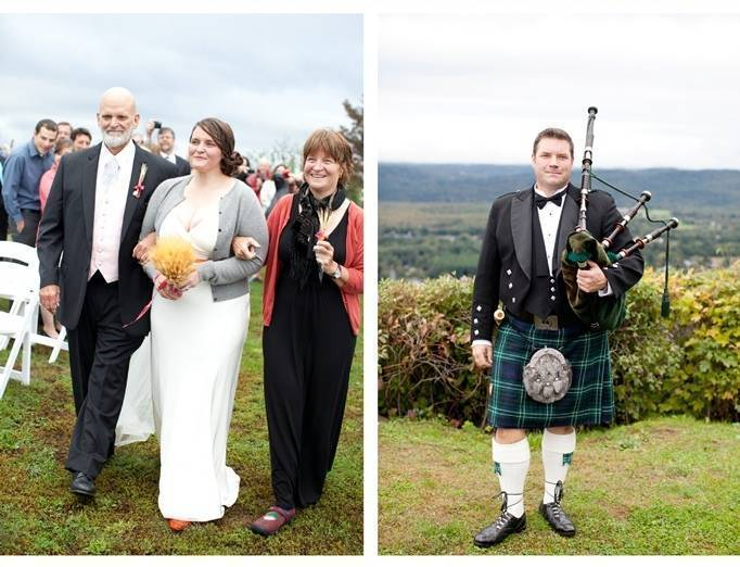 wedding bagpipes