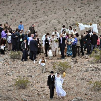 DIY Nevada Desert Wedding by Brilliant Imagery