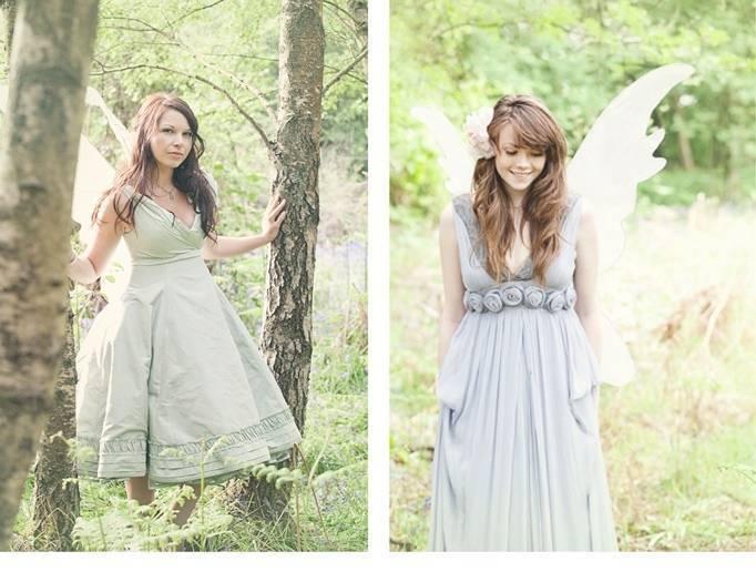 woodland fairy wings