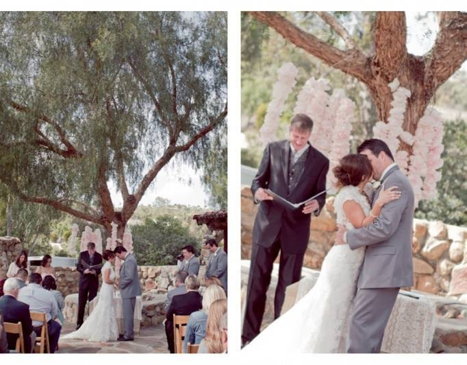 wedding at leo carrillo ranch, outdoor weddings in california