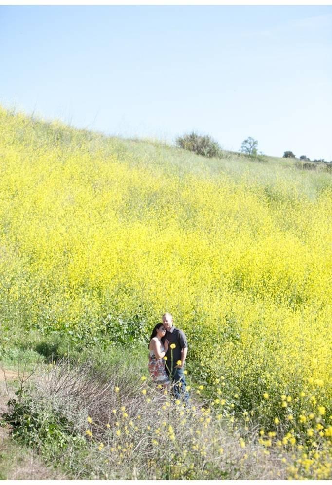 yellow field engagement