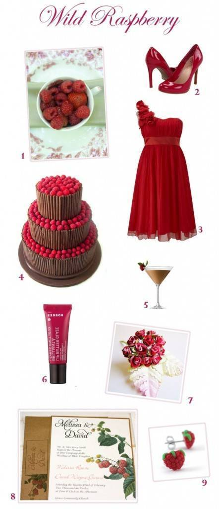 Wild Raspberry Wedding Inspiration