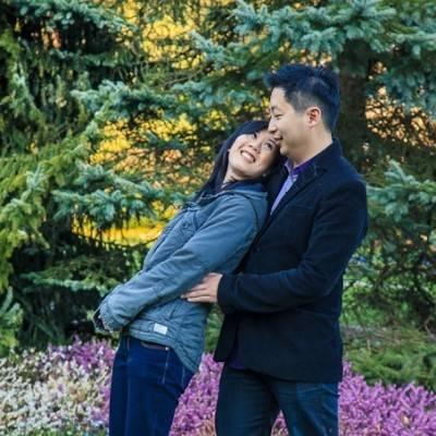 BC Garden Engagement by Darko Sikman Photography