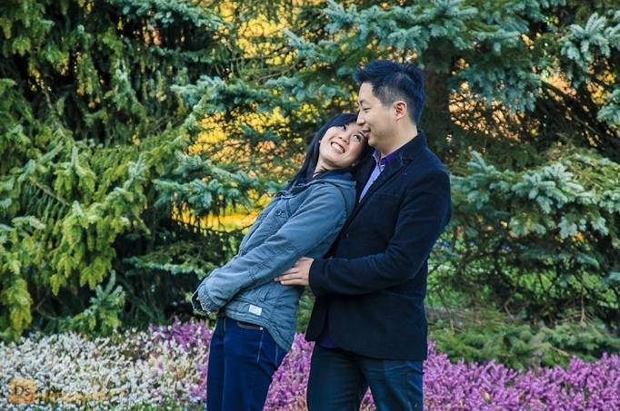 BC Garden Engagement by Darko Sikman Photography