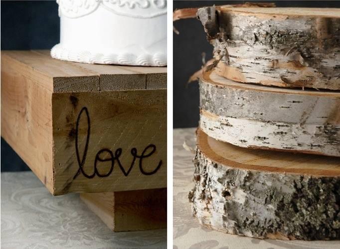 Birch Cake Stand