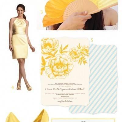 Buttercup Wedding Inspiration