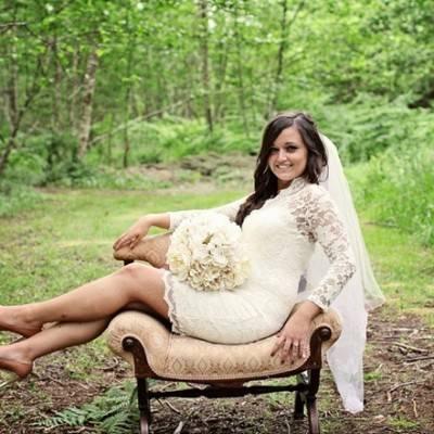 Modern DIY Woodland Wedding by Creatrix Photography