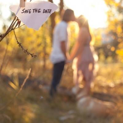 Idaho Field Engagement by Joie du Jour Photography