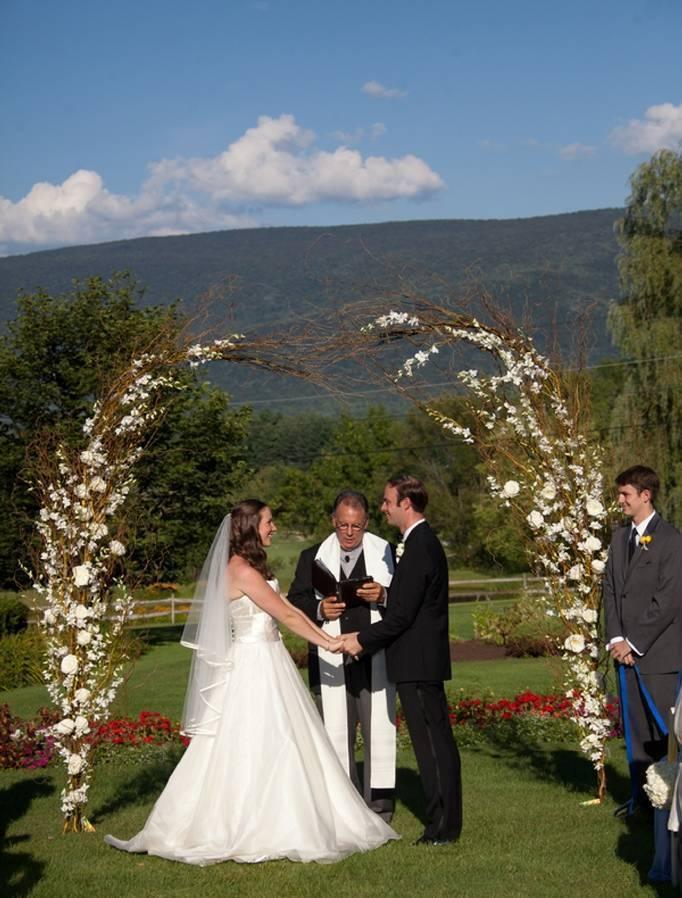 Equinox Resort and Spa Wedding Ceremony