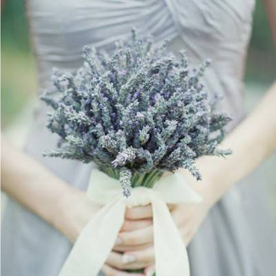 Wedding Flower Inspiration: Lovely Lavender