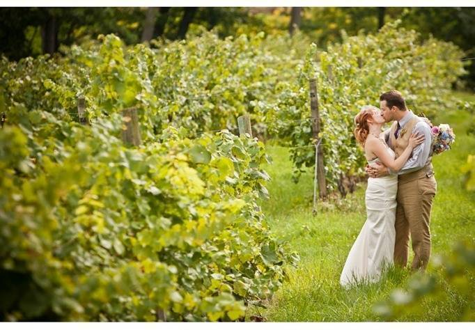 NY vineyard wedding