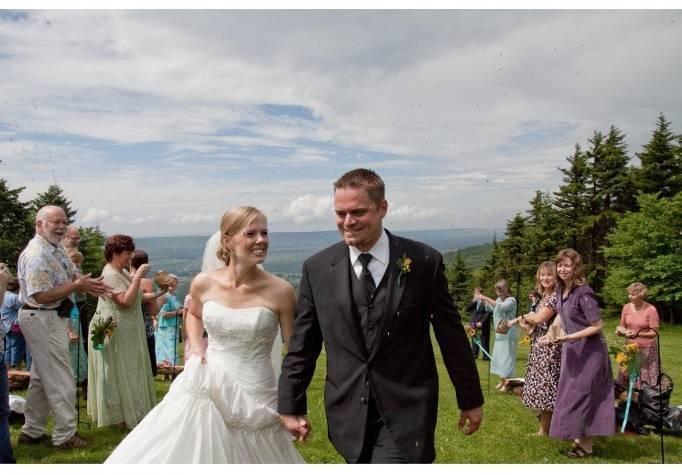 west virginia outdoor wedding