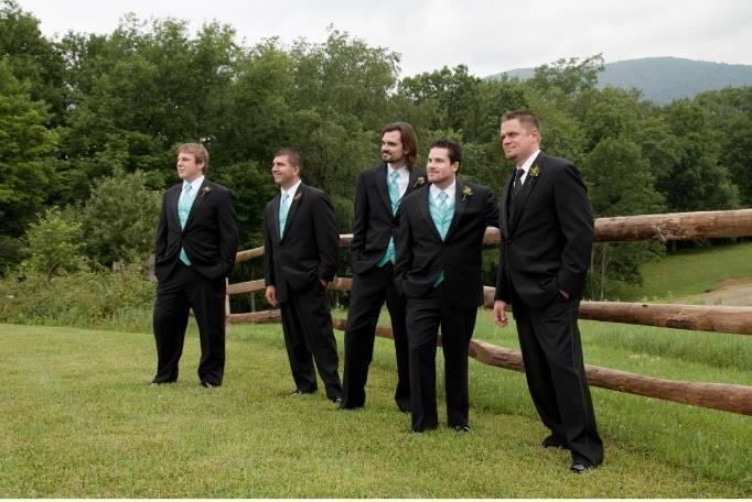 turquoise ties