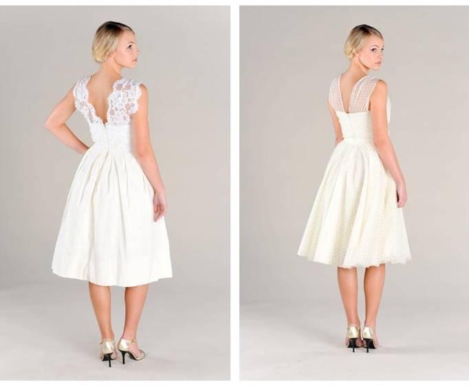 Pure Magnolia Tea Length Dress
