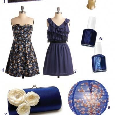 Midnight Blue Wedding Inspiration