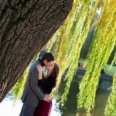 Autumn Boston Engagement by Aubrey B. Greene Photography