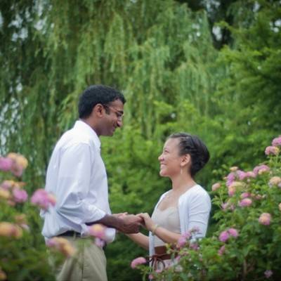 Boston Gardens Engagement by Coshi Productions