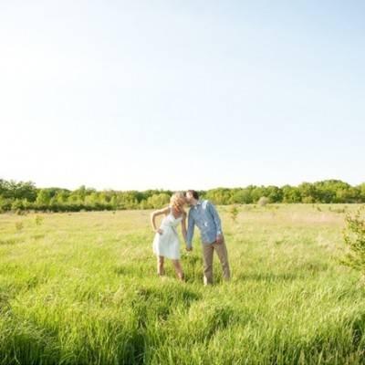 Lake Michigan Engagement by Jenna Rose Photography
