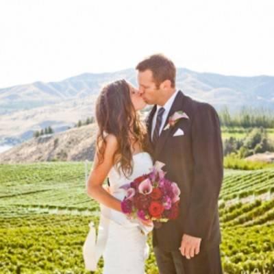 Benson Vineyards Wedding by Nicole Goddard Photography