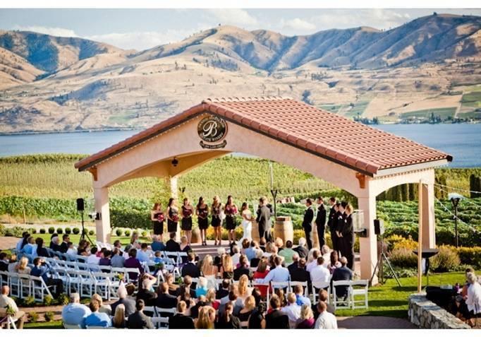 Washington vineyard wedding