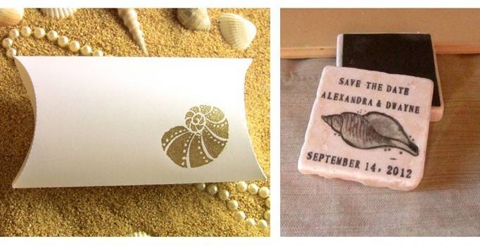 seashell save-the-date