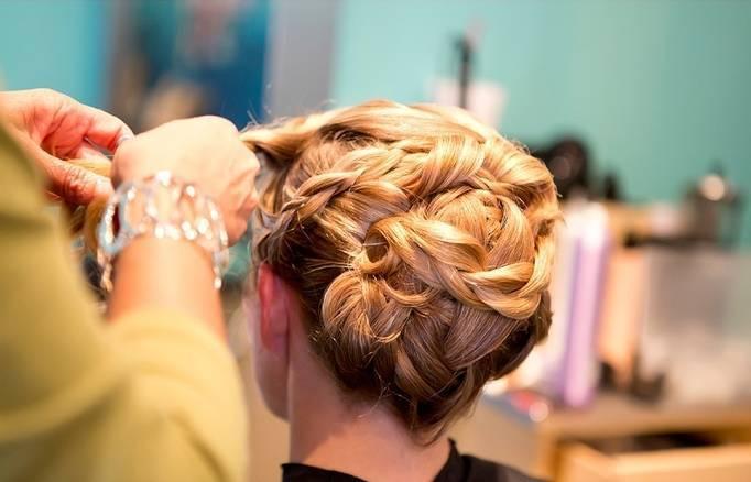 wedding hair twist