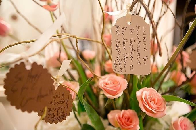 rose bush note guestbook alternative