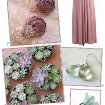 Mint + Mauve Wedding Inspiration
