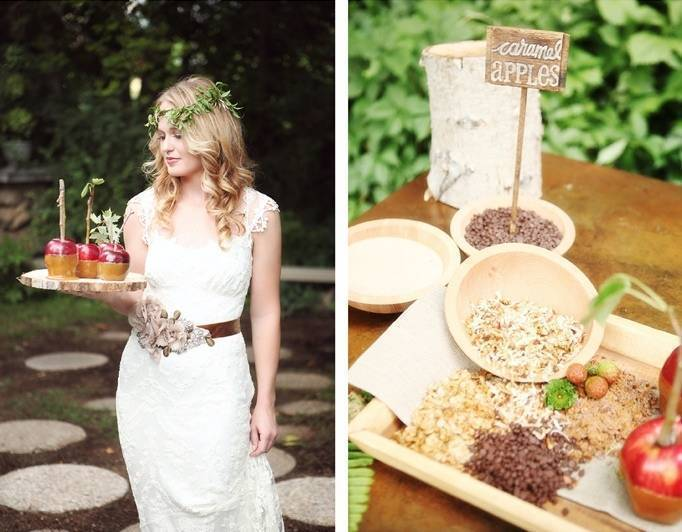Fall wedding theme