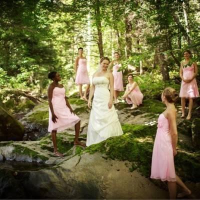 Backyard Fairytale Wedding by Ampersand Wedding Photography