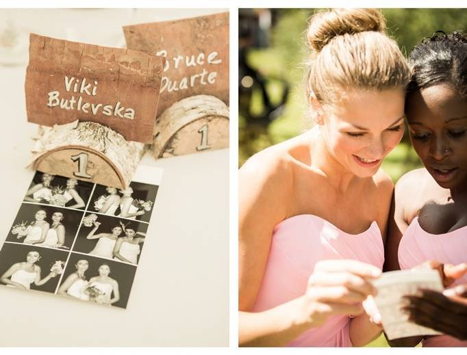 birch wedding ideas