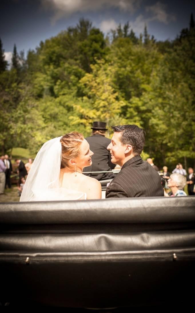 horse drawn carriage wedding