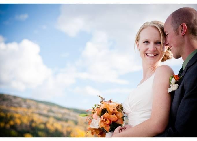 orange and yellow wedding