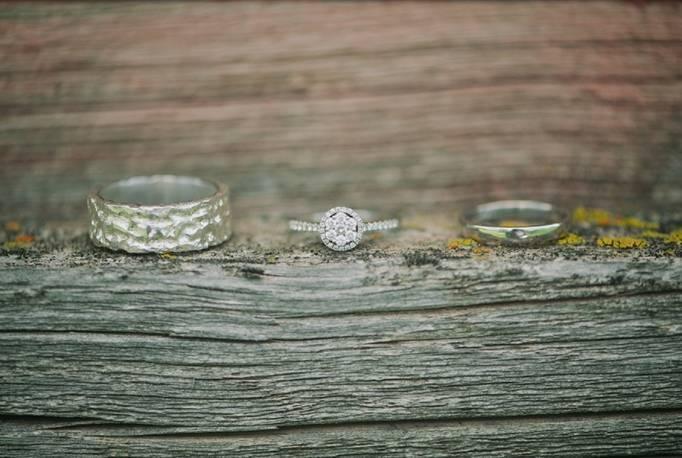 earthy wedding bands