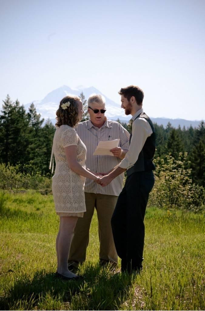 Mount Rainier Wedding