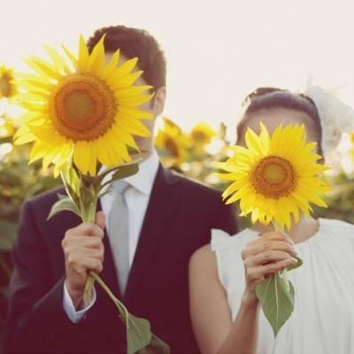 Wedding Flower Inspiration: Sunflowers