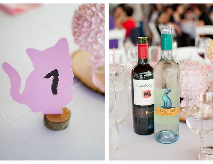 cat wedding theme