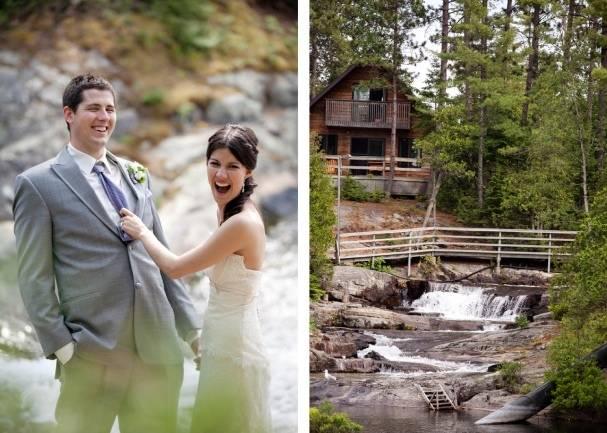 woodland wedding Canada