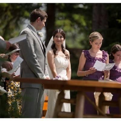 DIY Rustic Forest Wedding by Caroline Ross Photography