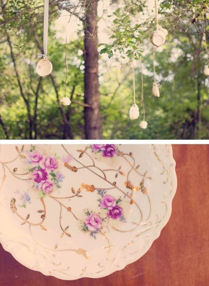 teacups in trees