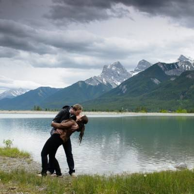 Canadian Rockies Engagement by Photography by Ginevre