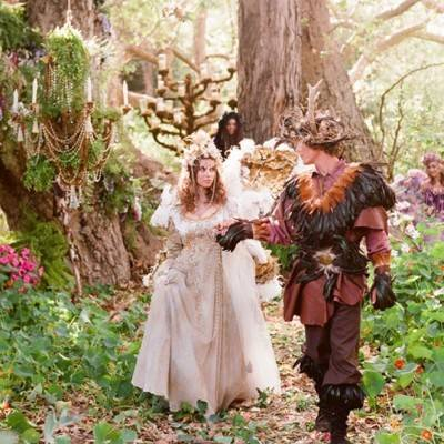 Woodland Faerie Styled Wedding by Tricia Fountaine
